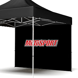 MotoSport 10' Full Wall With Screen Print - BikeMaster Stud Removal Sockets