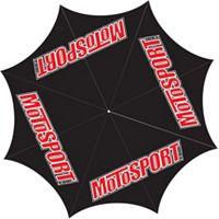 MotoSport Custom Printed Golf Umbrella