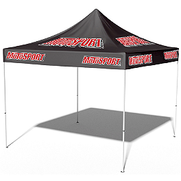 MotoSport Custom Canopy Combo - 10X10' - BikeMaster Multi-Purpose Working Cart