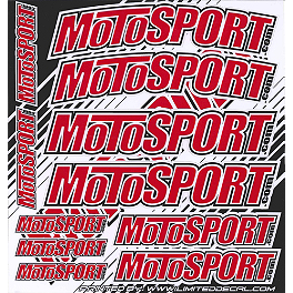 MotoSport Decal Sheet - FMF 8-Pack Sticker Kit