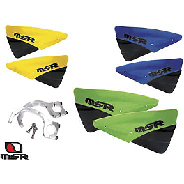 MSR Brush Guard Kit - MSR Youth Hip Pads - Black