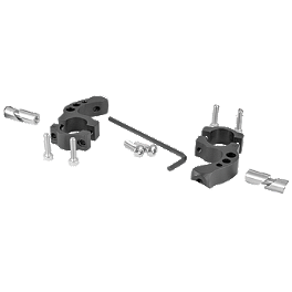 "MSR Evolution Handguard Replacement Clamp Mount Set - Renthal 1-1/8"" - MSR D-Flectors Tag/Magura Mount Kit - 1-1/8"