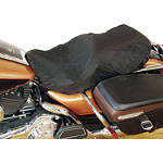 Mustang Rain Cover For Standard Seat With Backrest - Cruiser Riding Accessories