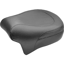 "Mustang Wide Rear 13.5"" Seat - Plain - Mustang Sissy Bar Pad 14"