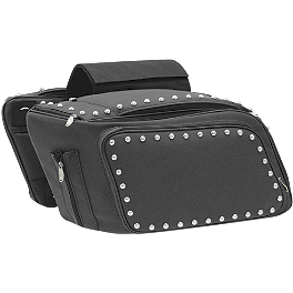 Mustang Throw-Over Saddlebags - Mustang Passenger Backrest Pad 12