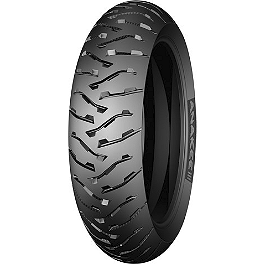 Michelin Anakee 3 Rear Tire - 140/80-17 - Michelin Pilot Road 2 Front Tire - 120/70ZR17