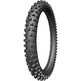 Michelin AC-10 Front Tire - 80/100-21 - 2010 Husqvarna TE250 Michelin AC-10 Rear Tire - 120/90-18