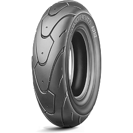 Michelin Bopper Rear Tire - 130/70-12 - Michelin Pilot Road 3 Front Tire - 120/70ZR17