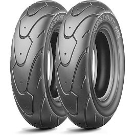 Michelin Bopper Tire Combo - Michelin Pilot Road 3 Rear Tire - 180/55ZR17