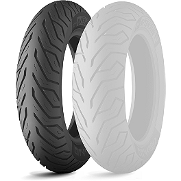 Michelin City Grip Front Tire - 120/70-12 - Michelin Pilot Road 2 Rear Tire - 180/55ZR17 B