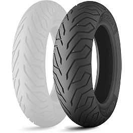 Michelin City Grip Rear Tire - 130/70-12 - Michelin Pilot Road 3 Front Tire - 120/60ZR17
