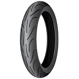 Michelin Pilot Power 2CT Front Tire - 120/60ZR17 - Michelin Pilot Activ Rear Tire - 120/90-18V