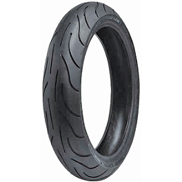 Michelin Pilot Power 2CT Front Tire - 120/70ZR17 - Michelin Pilot Activ Rear Tire - 140/80-17V