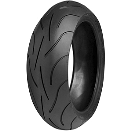 Michelin Pilot Power 2CT Rear Tire - 160/60ZR17 - Michelin Pilot Activ Front Tire - 100/90-18H