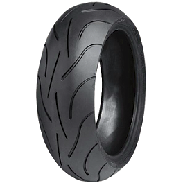Michelin Pilot Power 2CT Rear Tire - 190/50ZR17 - Michelin Pilot Activ Front Tire - 110/80-18V