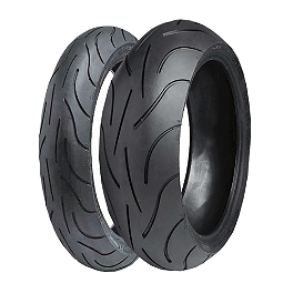 Michelin Pilot Power 2CT Tire Combo - Michelin Pilot Activ Front Tire - 110/90-18V