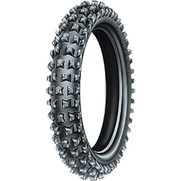 Michelin Desert Front Tire - 90/90-21 - 2002 Husqvarna WR360 Michelin AC-10 Rear Tire - 120/90-18