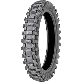 Michelin StarCross MH3 Rear Tire - 120/90-18 - 1992 Suzuki DR650SE Michelin M12XC Front Tire - 80/100-21