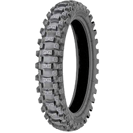 Michelin Starcross MS3 Rear Tire - 100/90-19 - 2005 Suzuki RM125 Michelin AC-10 Front Tire - 80/100-21