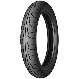 Michelin Pilot Activ Front Tire - 100/90-19V - Michelin Pilot Activ Rear Tire - 4.00-18H