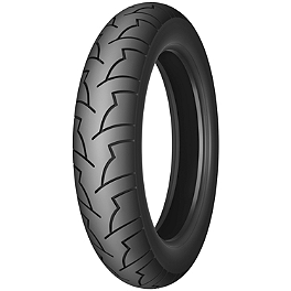 Michelin Pilot Activ Rear Tire - 130/80-18V - Michelin Pilot Activ Front Tire - 110/90-18V