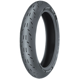 Michelin Power One Front Tire - 120/60ZR17 - Michelin Pilot Road 3 Rear Tire - 180/55ZR17 B