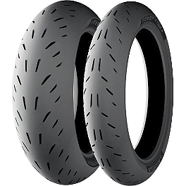 Michelin Power One Tire Combo - Pirelli Diablo Rosso Corsa Tire Combo
