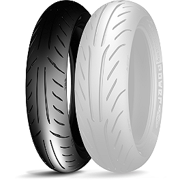 Michelin Power Pure SC Front Tire - 120/70-12 - Michelin Pilot Power 3 Front Tire - 120/70ZR17