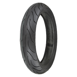 Michelin Pilot Power Front Tire - 120/65ZR17 - Michelin Pilot Road 2 Rear Tire - 160/60ZR17