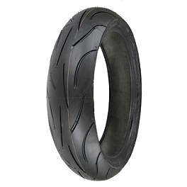 Michelin Pilot Power Rear Tire - 160/60ZR17 - Michelin Pilot Activ Front Tire - 90/90-18H