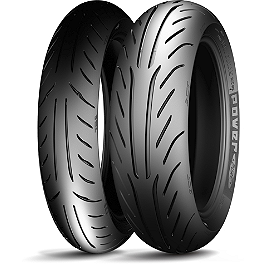 Michelin Power Pure SC Tire Combo - Michelin Pilot Road 3 Rear Tire - 150/70ZR17