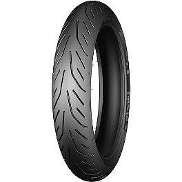 Michelin Pilot Power 3 Front Tire - 120/60ZR17 - Michelin Pilot Activ Rear Tire - 120/90-18V