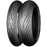 Michelin Pilot Power 3 Tire Combo - Michelin Pilot Power 3 Motorcycle Tires