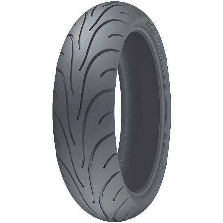 Michelin Pilot Road 2 Rear Tire - 180/55ZR17 C - Main