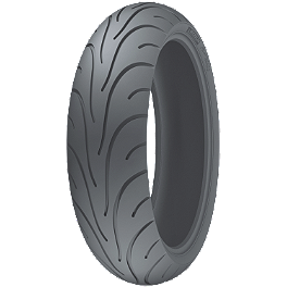 Michelin Pilot Road 2 Rear Tire - 180/55ZR17 C - Michelin Pilot Activ Front Tire - 110/70-17H