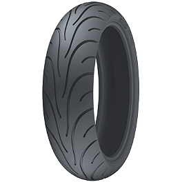 Michelin Pilot Road 2 Rear Tire - 160/60ZR18 - Michelin Pilot Power Front Tire - 110/70ZR17