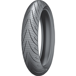 Michelin Pilot Road 3 Front Tire - 110/80R19 - Continental Trail Attack Dual Sport Radial Rear Tire - 140/80R17