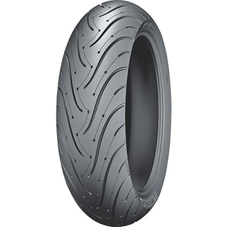 Michelin Pilot Road 3 Rear Tire - 180/55ZR17 - Main
