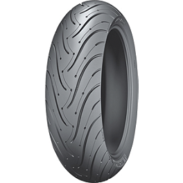 Michelin Pilot Road 3 Rear Tire - 180/55ZR17 - Michelin Pilot Power Front Tire - 120/70ZR17