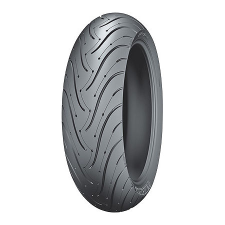 Michelin Pilot Road 3 Rear Tire - 180/55ZR17 B - Main
