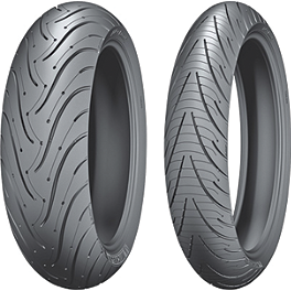 Michelin Pilot Road 3 Tire Combo - Michelin Pilot Road 3 Rear Tire - 180/55ZR17