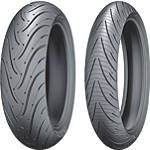 Michelin Pilot Road 3 Tire Combo -  Motorcycle Tire Combos