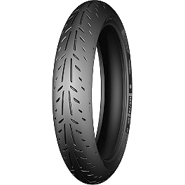 Michelin Power Supersport Front Tire - 120/70ZR17 - Michelin Anakee 3 Front Tire - 90/90-21S