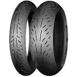 Michelin Power Supersport Tire Combo - Shinko 008 Race Tire Combo