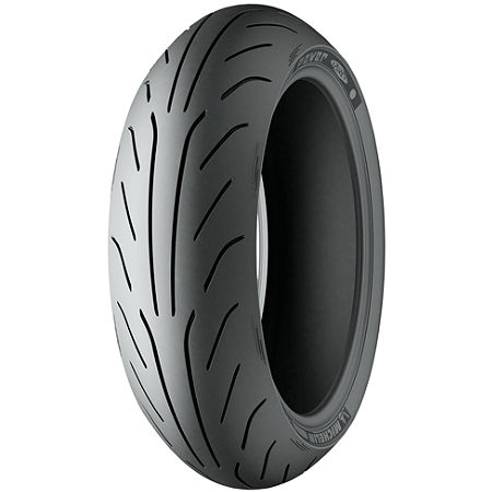Michelin Power Pure Rear Tire - 180/55ZR17 - Main