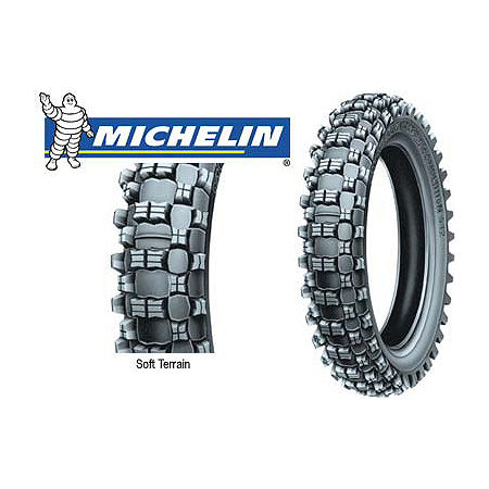 MICHELIN S12 REAR TIRE - 110/100-18 - Main