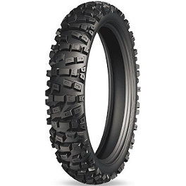 Michelin Starcross HP4 Hardpack Rear Tire - 110/90-19 - 1995 Honda CR250 Michelin M12XC Front Tire - 80/100-21