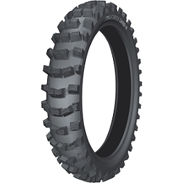 Michelin Starcross Sand 4 Rear Tire - 110/90-19 - 2002 Husqvarna TC450 Cheng Shin Rear Paddle Tire - 110/90-19 - 8 Paddle