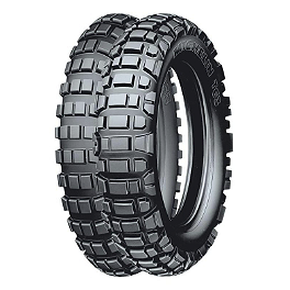 Michelin T63 Tire Combo - 2009 Husqvarna TE250 Michelin Bib Mousse
