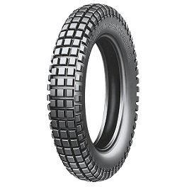 Michelin Competition Trials Tire Front - 2.75-21 - 1977 Honda CR125 Michelin AC-10 Tire Combo